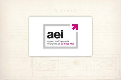 logotipo aei Agrupación Empresarial Innovadora de La Rioja Alta