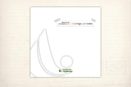 Catálogo. Memoria de actividades. Fundación Caja Rioa