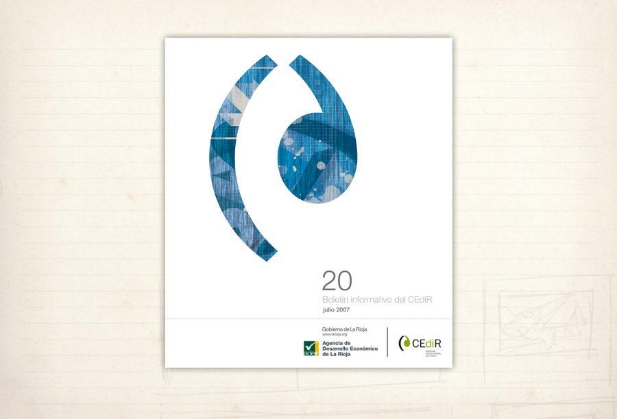 Diseño editorial. Revista Cedir