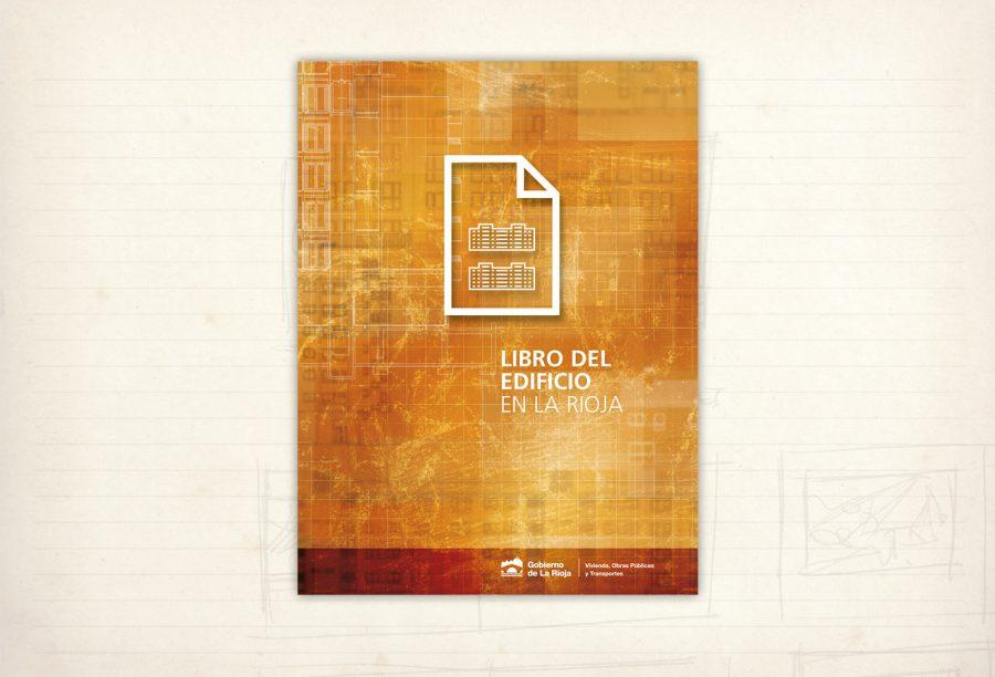 Diseño editorial. Libro del edificio en La Rioja