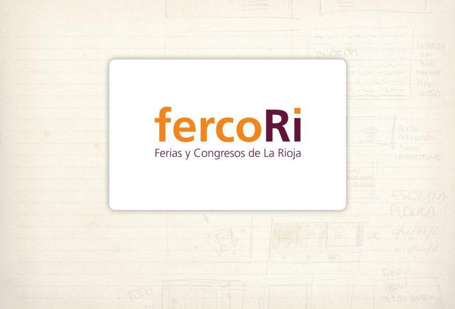 Logotipo. Fercori. Ferias y congresos de La Rioja