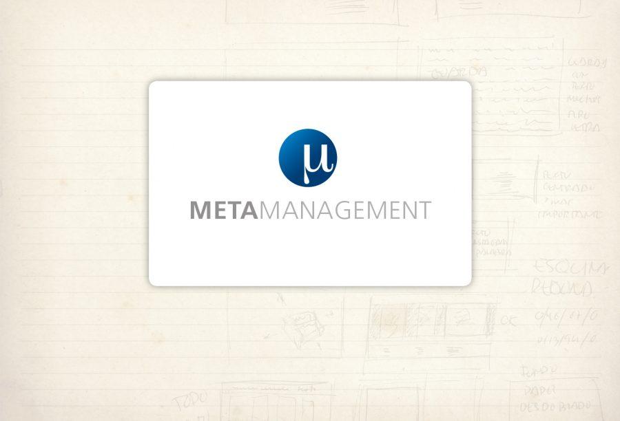 Logotipo. Metamanagement. Consultora orientada a empresas y organizaciones