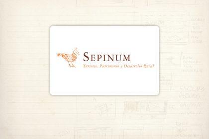 Logotipo. Sepinum. Consultora sobre turismo rural y actividades culturales