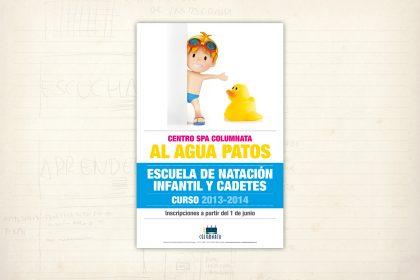 Cartel promocional. Imagen Gráfica. Centro Spa Columnata