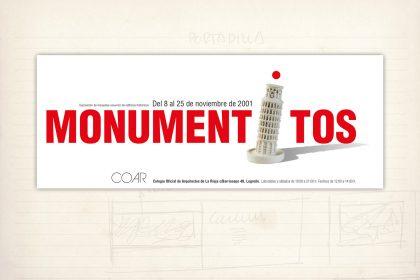 Exposición COAR de monumentitos