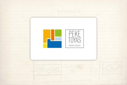 logotipo Peke Toyas maestro vidriero