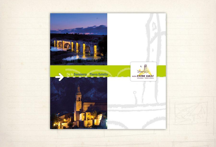 Catálogo proyecto cultural Entreluces. De la Sonsierra a Tierra Estella