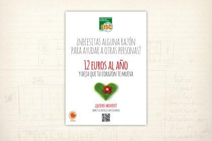 Imagen gráfica. Campaña de captación de socios para la ONGD FISC La Rioja