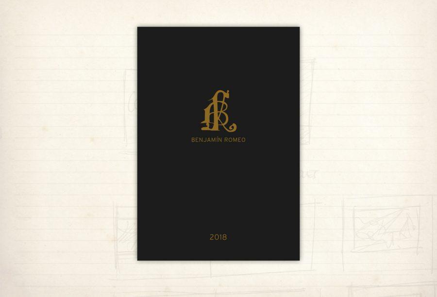 catálogo y editorial. Vinos de Benjamín Romeo. Bodegas Contador. Colección 2018